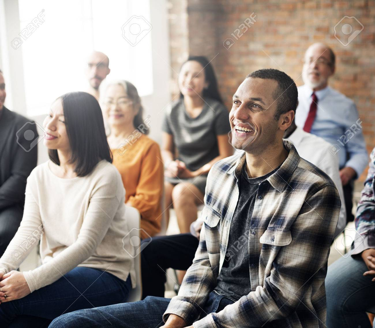 People Attending In-Person Class